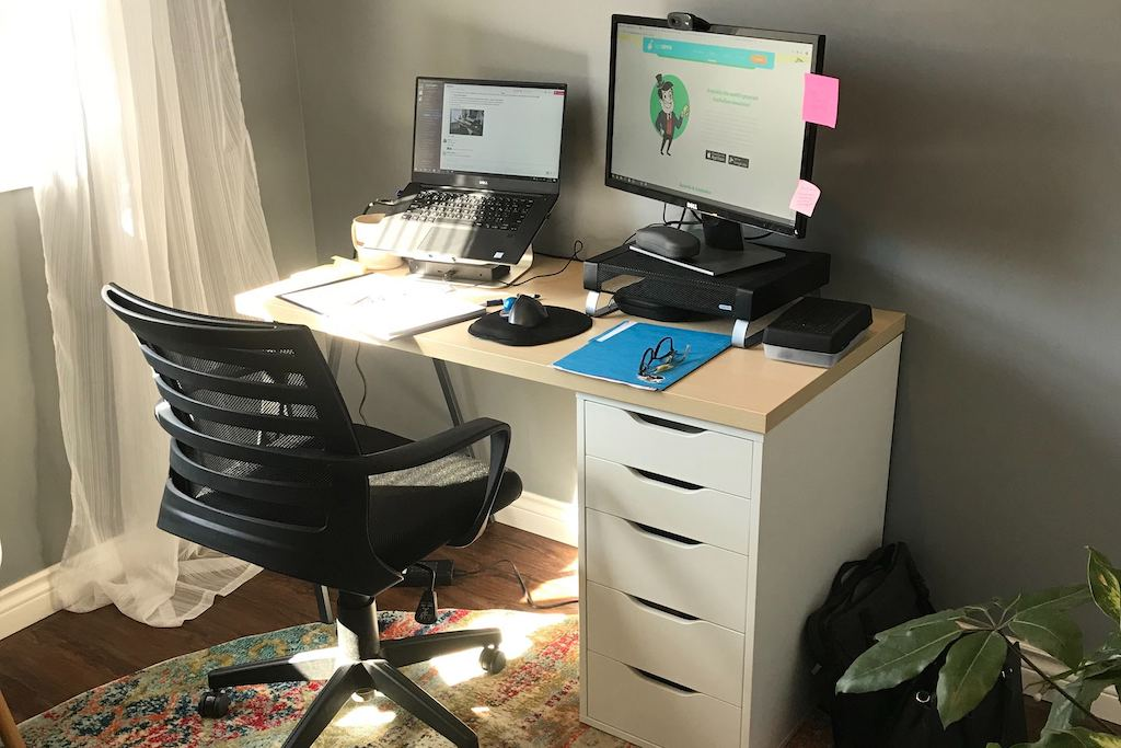 How We Work from Home Healthily, Happily & Productively